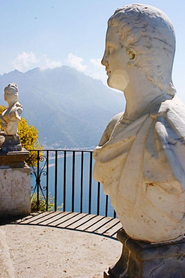 View From The Balcony Amalfi Coast Italy