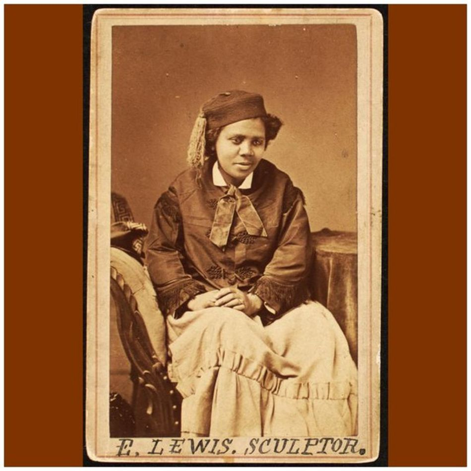 """It was hard work, though, but with color and sex against me I have achieved success. That is what I tell my people, whenever I meet them, that they must not be discouraged but work ahead until the world is bound to respect them for what they have accomplished."" -- Edmonia Lewis, sculptor (1844-1907) EdmoniaLewis Sculptor WomensHistory WomensHistoryMonth Herstory Perseverance"