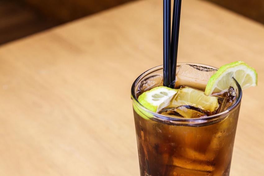 Close-up Drink Drinks Food And Drink Freshness Ice Cubes Lemon Lemon Slice