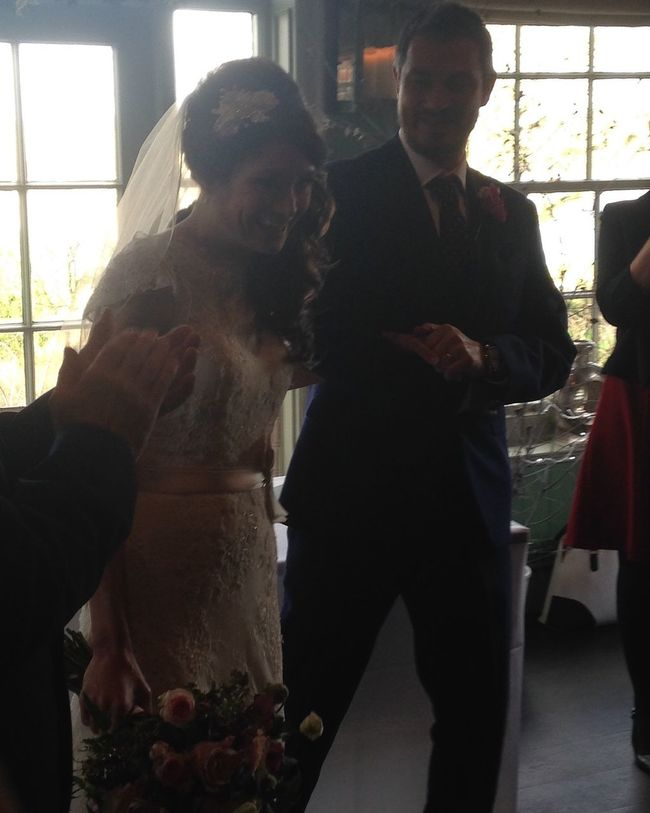 My beautiful wife and I tied the knot on 29.12.2015
