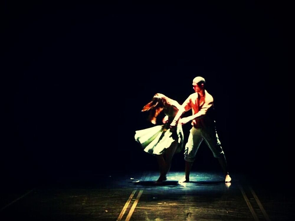 On Stage Show Must Go On Dance Duo