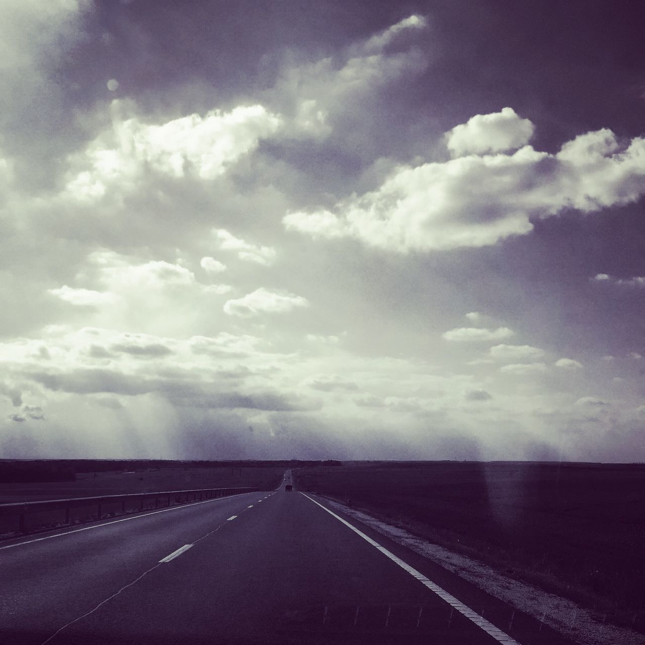 road, the way forward, diminishing perspective, sky, landscape, cloud - sky, transportation, outdoors, day, no people, tranquility, nature, scenics, beauty in nature