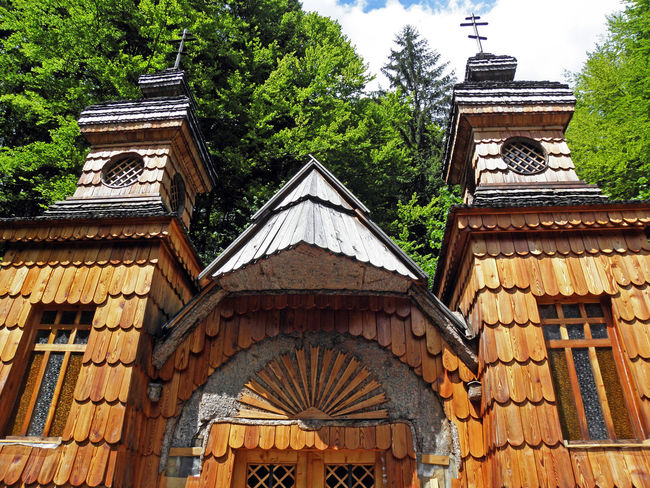 Russian chapel 1917.,built by russian prisoners of war during 1st World war,Vrsic,Slovenia,2 1917. 1st World War Architecture Chapel Church Eu History In Memoriam Memory Prisoners Of War Religion Russian Russian Chapel Slovenia Vrsic Wooden Facade