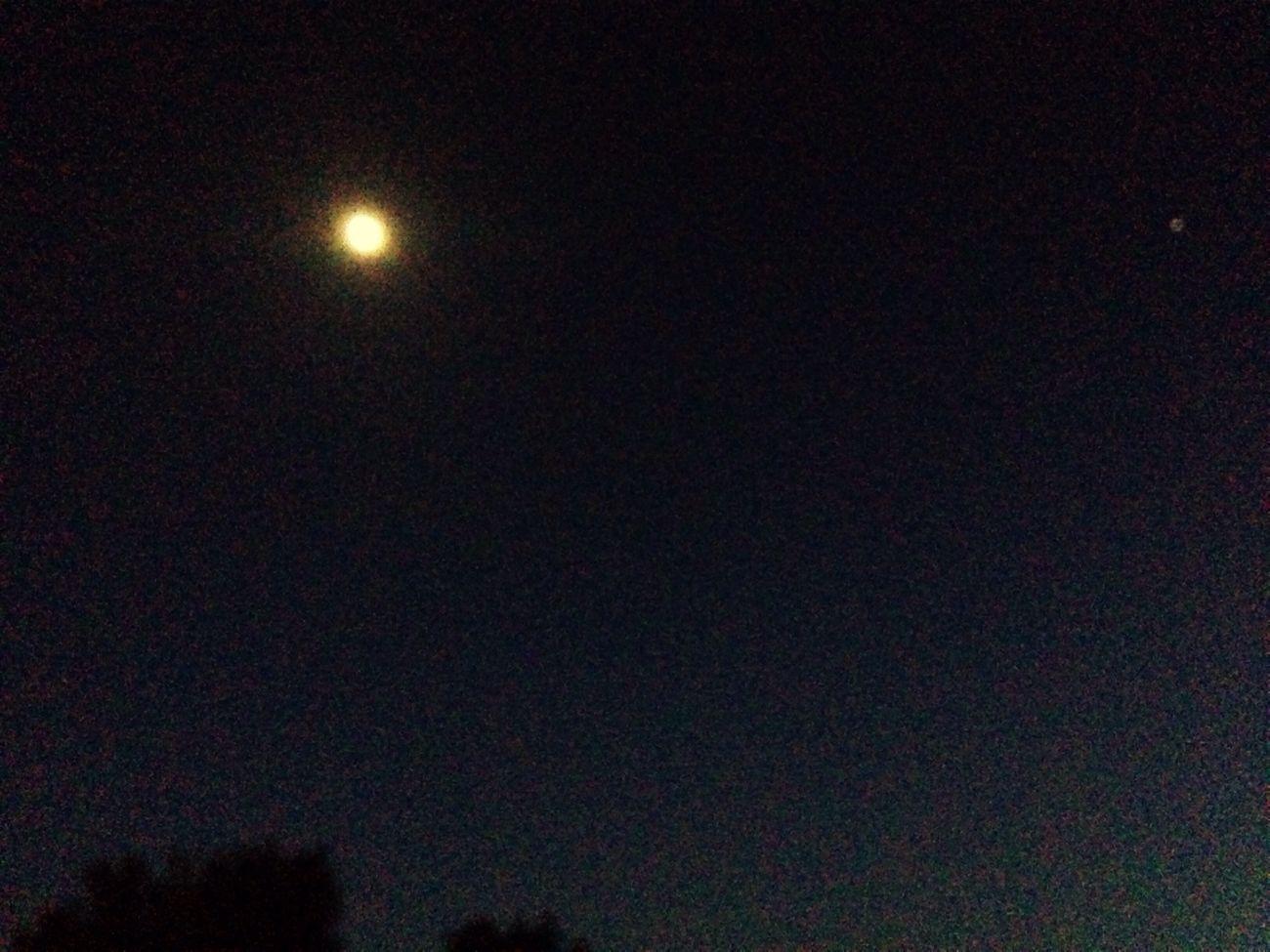 Moon Night Blue Sky Good Night