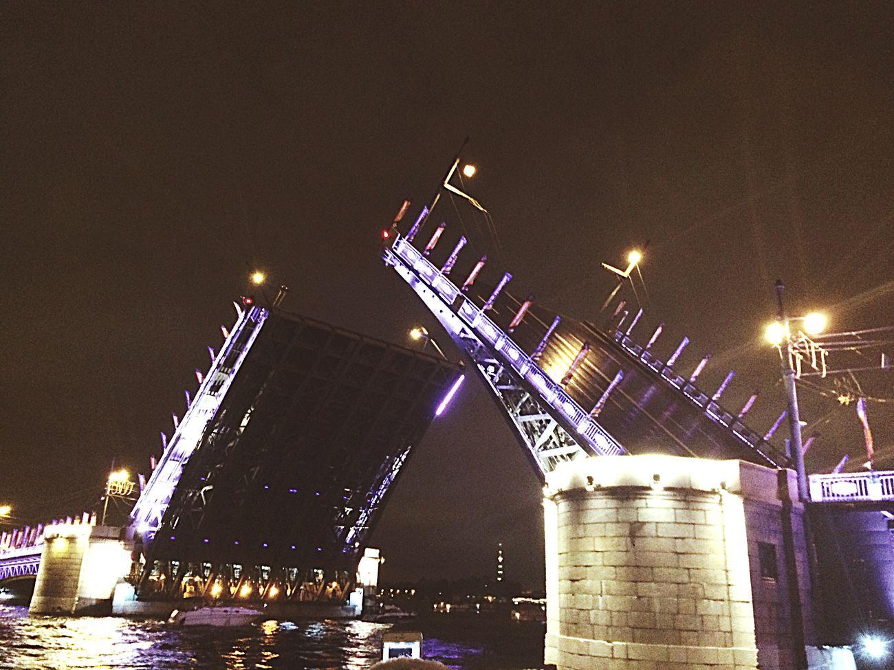 Colour Of Life мост питерятебялюблю Ночь огни катер прогулка достопримечательность