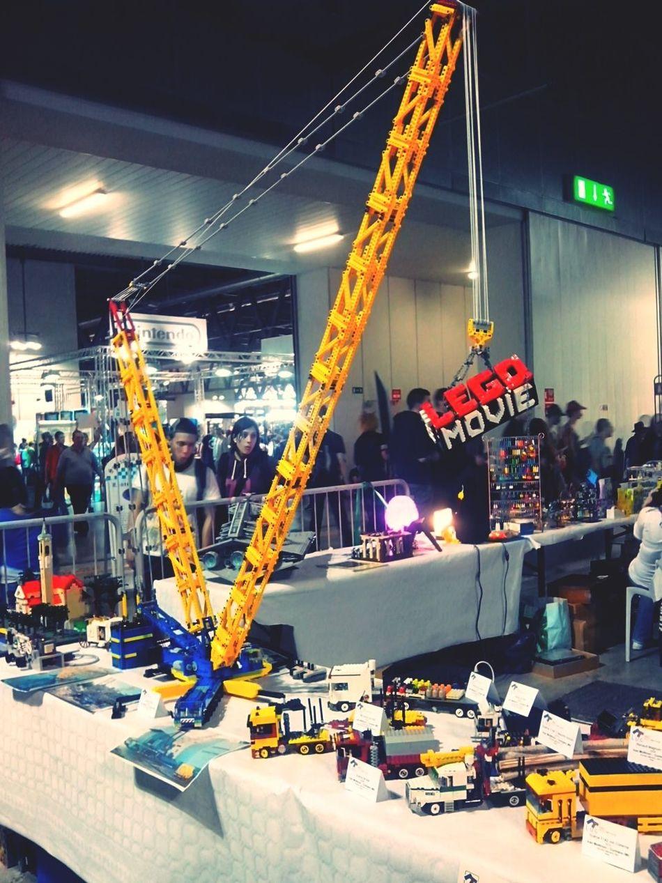 LEGO Nonsonoungiocattolino Gli Ingegneri Del Futuro :) Costruction non si è mai troppo vecchi per i lego