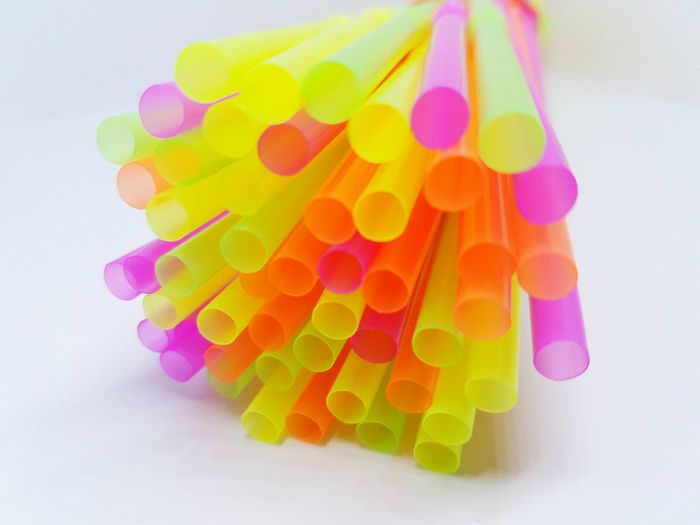 Colorful straws Yellow Pink Orange Purple Colorful Straws Variety Birthdays Special Large Group Of Objects