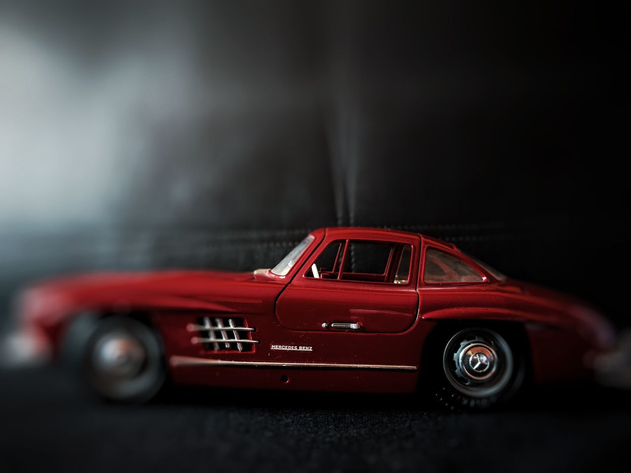 Car Red Old-fashioned Land Vehicle Auto Racing Sports Car Turntable No People Close-up Collector's Car Indoors  Sports Race Sports Track Racecar Record Player Needle