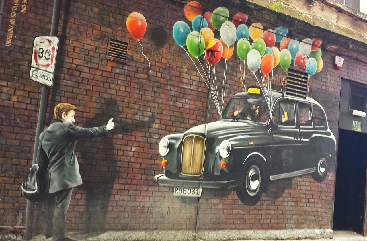 Calling A Cab Taxi! UrbanART