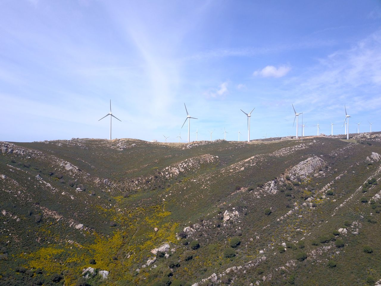 Alternative Energy Beauty In Nature Day Drone  Dronephotography Electricity  Environmental Conservation Field Landscape Nature No People Outdoors Renewable Energy Rural Scene Sky Wind Power Wind Power Wind Power Generator Wind Turbine Windmill