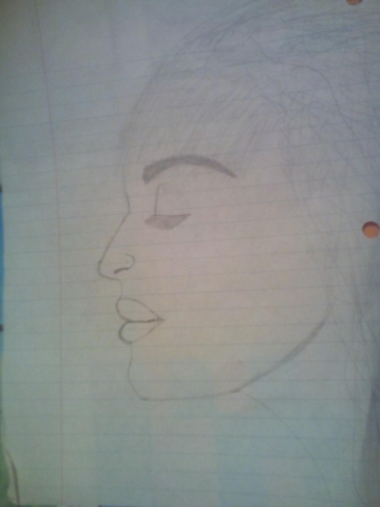 My drawing. Drawing Drawing Of A Woman No Color Pencil And Paper Woman Drawing ✏Art My Drawing Drawing, Painting, Artwork Hand Drawn