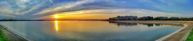Panoramic Photography Sunset_collection EyeEm Best Edits