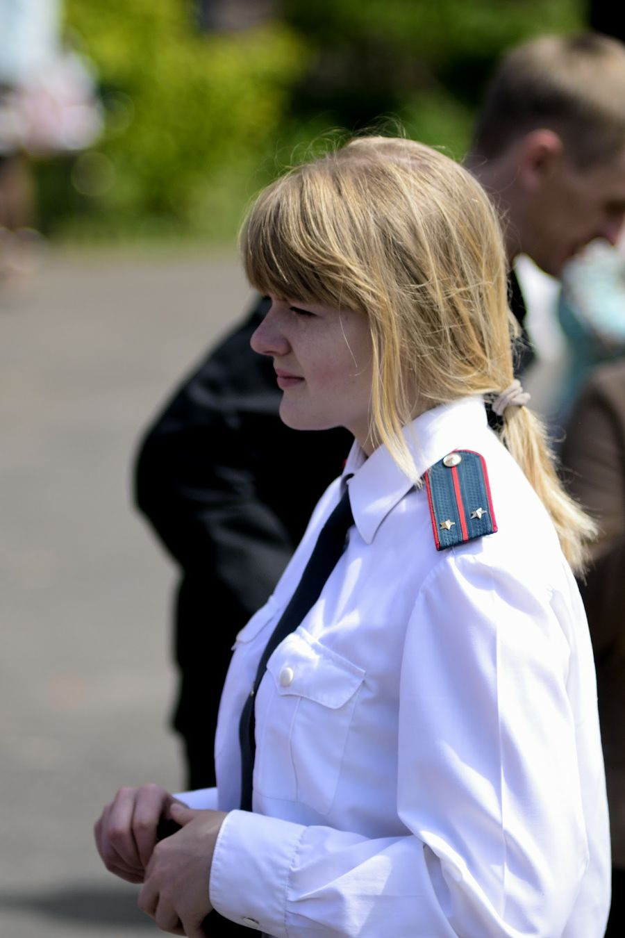 Russia репортаж Portret Girl девушка Sexy Girl Police