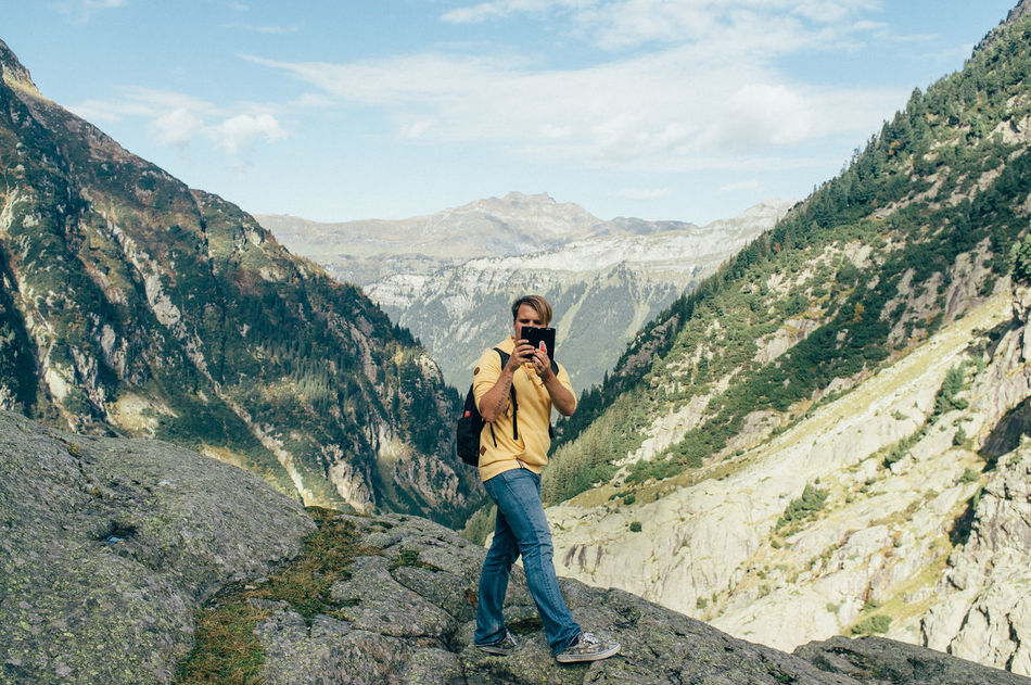 Beautiful stock photos of photographer, At The Edge Of, Backpack, Day, Digital Tablet