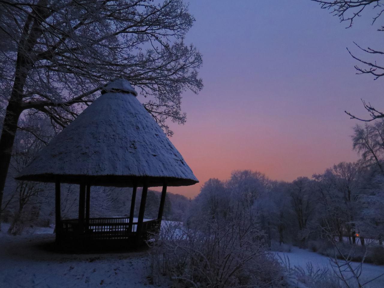 Deepfreeze BadPyrmont Schnee Winter Germany Snow January2015 Twilight Pastel Power Pastel Colors Sunset After Sunset Snow Day