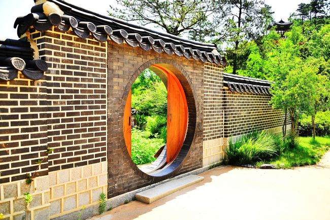 International Garden Exposition Suncheon Architecture Built Structure Garden Garden Architecture Garden Photography Hanok Hanok Door Korea Garden Nature Sky