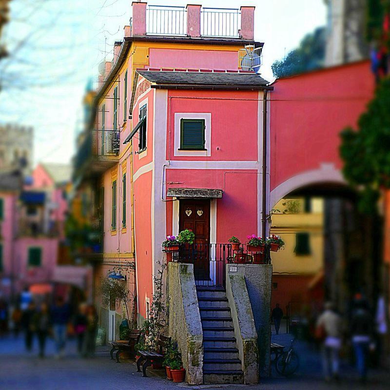 Monterosso Al Mare Parcocinqueterre La Spezia Rosa Ig_genova Casa Pink Color