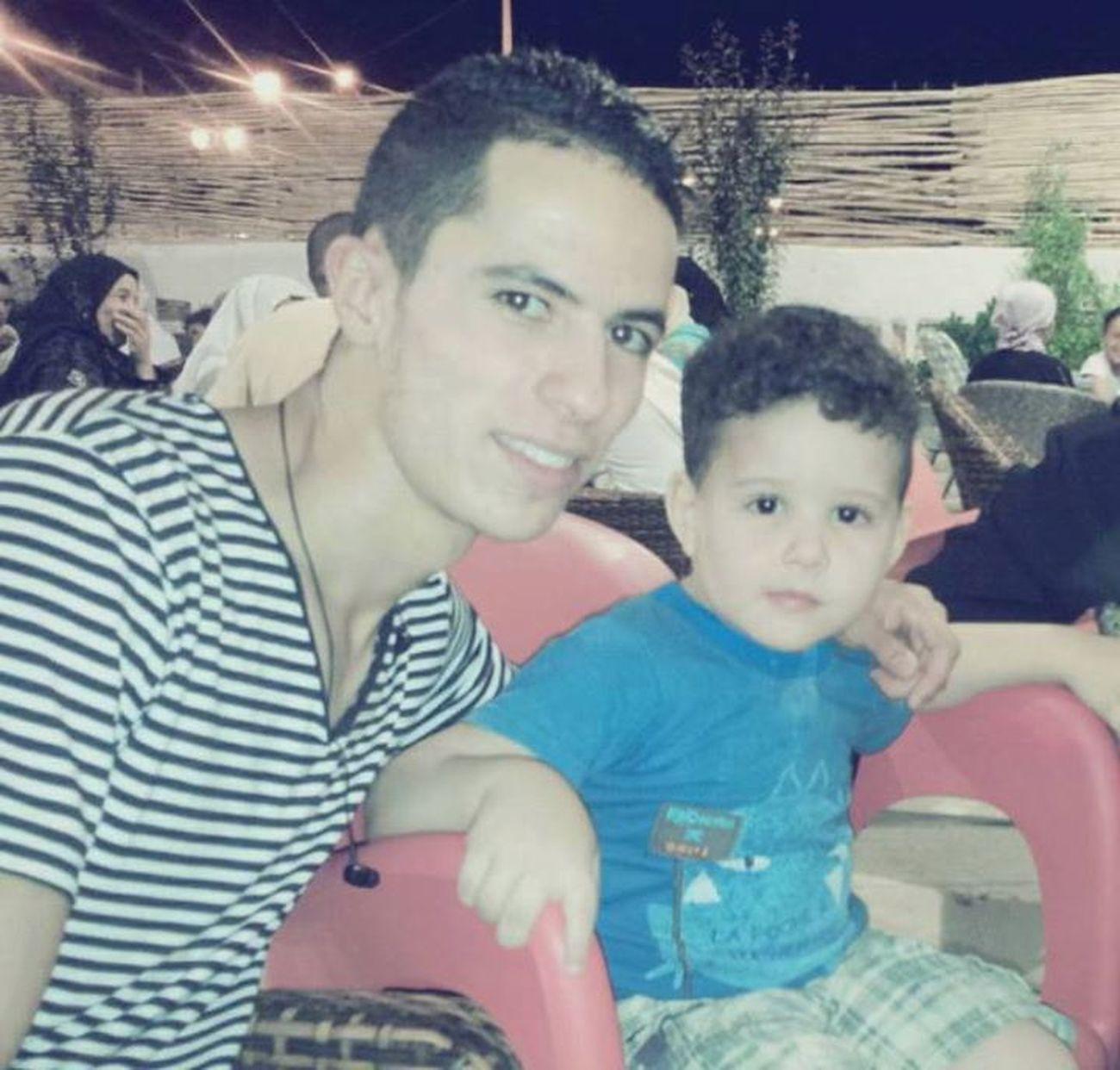 Moi et mon petit frère :p