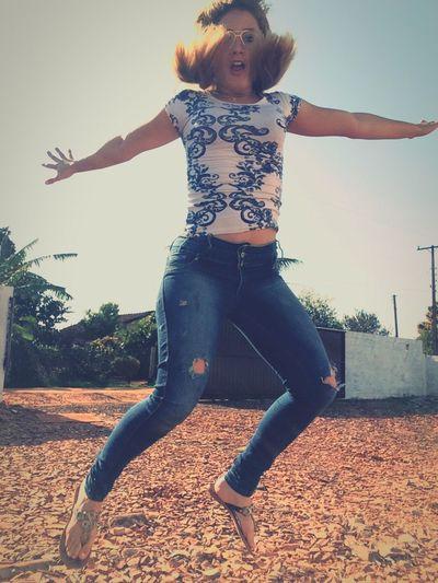 Da série, tentando tirar fotos pulando hahahahah First Eyeem Photo