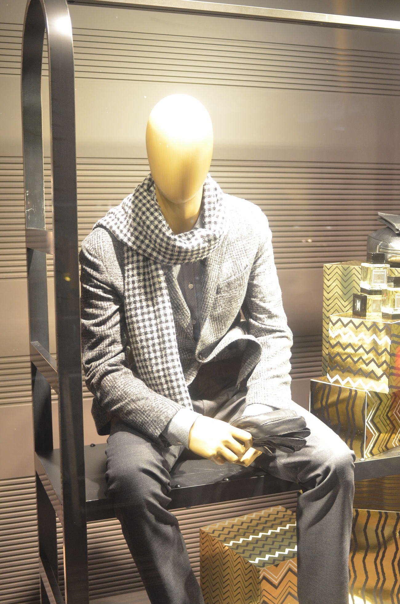 Mannequin Dummy Mensfashion Illuminated Displayed Window Display Window Display Photography Night Street Walking Around Taking Photos From My Point Of View Winter Fashion Cool Guy Adult Fashion Marunouchi