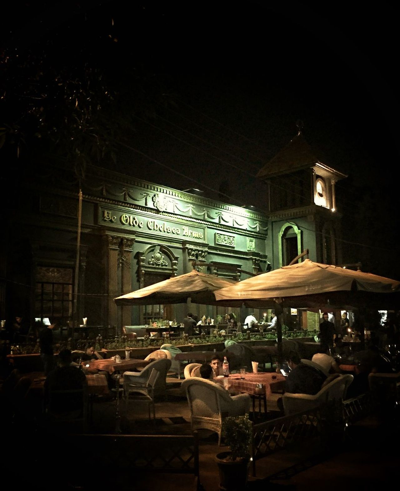 """Ye Olde Chelsea Arms"" Did not expect to come across this on our first night in Tashkent Uzbekistan Uzbekistan Central Asia Chair Cities At Night Dark Drinks With Friends Electric Lamp Empty Hotel Illuminated Lifestyles Night Restaurant Uzbekistan • The Street Photographer – 2016 EyeEm Awards"