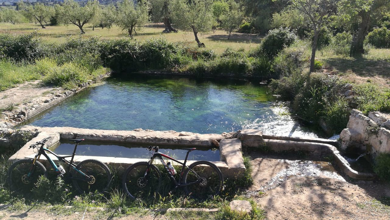 Water Outdoors Nature No People Beauty In Nature Fuente❤Agua Agua Fuentes Nacimiento Lavadero BTT Mountainbike MTB Healthylife Sport Time Primavera Beautiful Day Bicycle Mountain Spring Nature Rural Scene