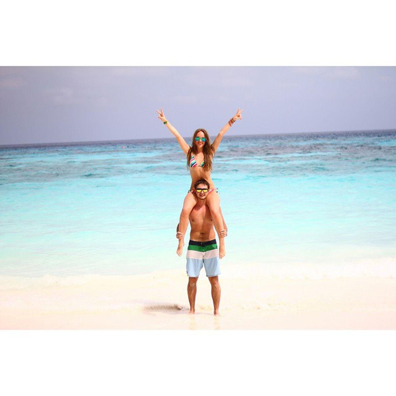 Разукрашу ленту голубым морем, белым песком и своим летним настроениеThailand Tachai Мужижена люблюмужа всемсчастьялето2015seabeach