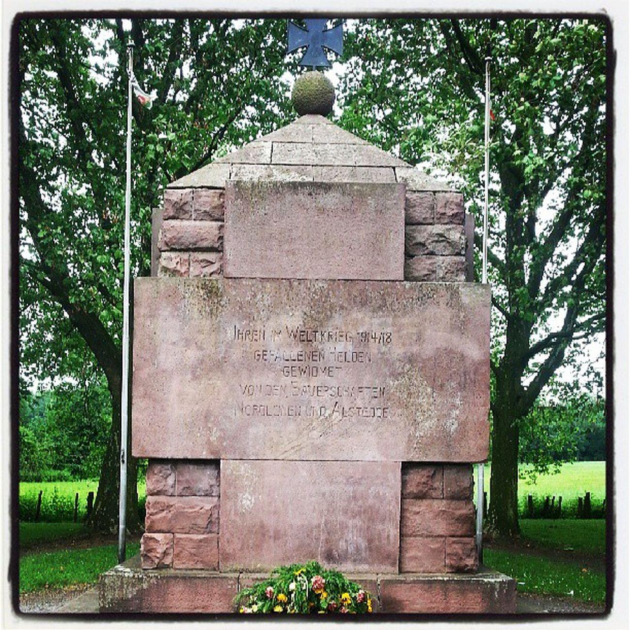 Kriegerdenkmal Nordl ünen Alstedde