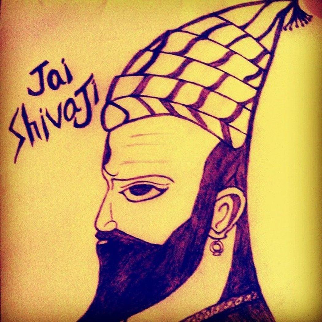 My Latest Sketch The Great Maratha Emperor Young Shivaji Maharaj Instagram Upload