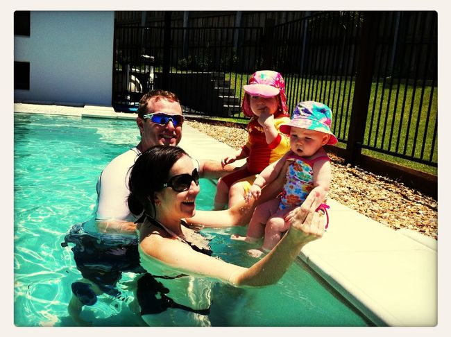 At The Pool!