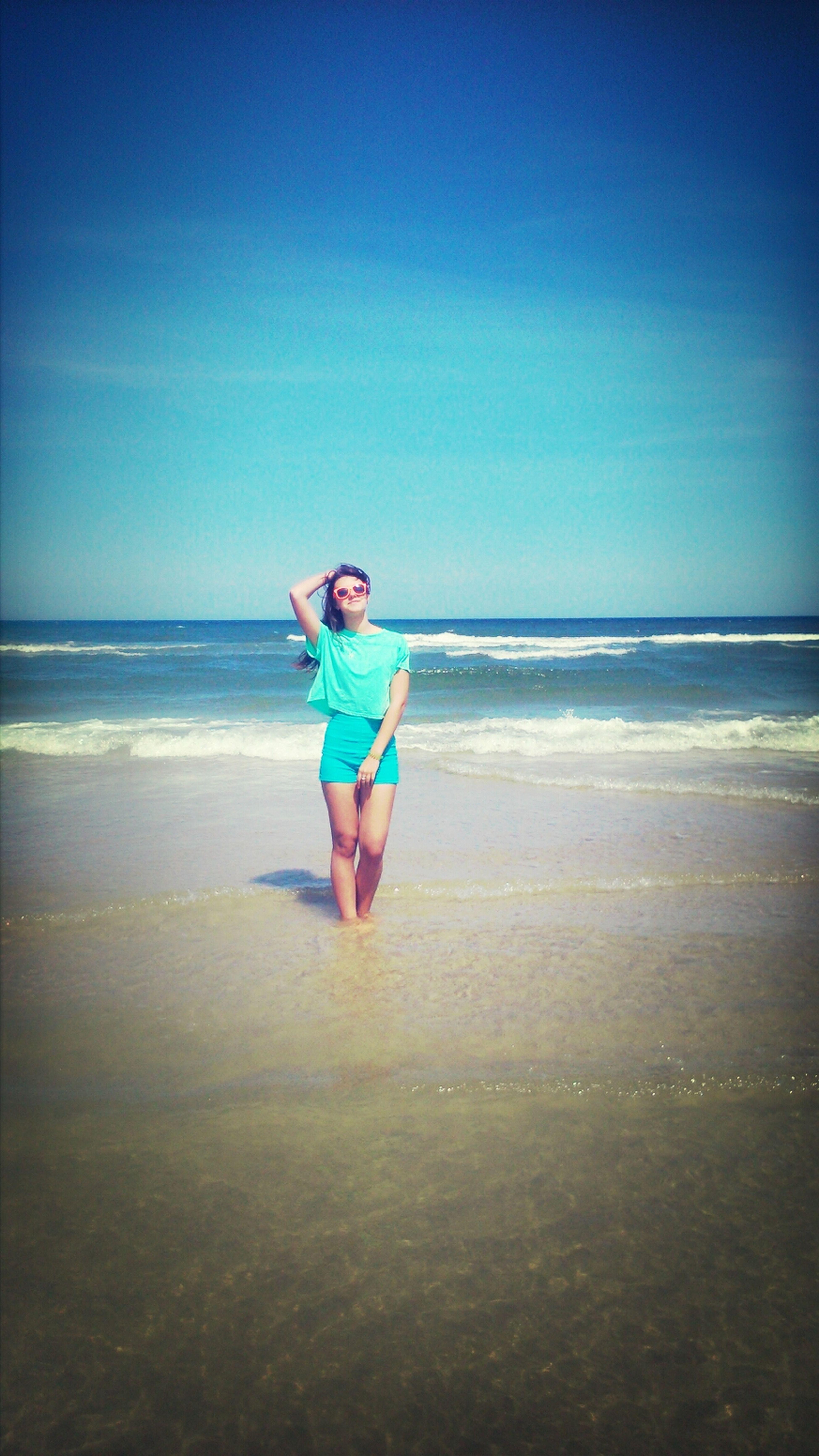Relaxing Sunshine Sea