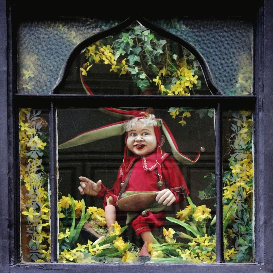 Outdoors Smiling Fun Jolly Happiness Joker Street -in Prague Czech Republic
