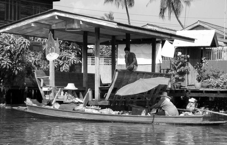 Boat Day EyeEm Selects Men Nature Outdoors People Real People Transportation Wasserdorf Water Water Village Wohnen Women