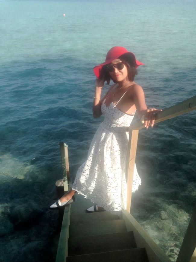 Happy Vacation  Maldives Centara Ras Fushi