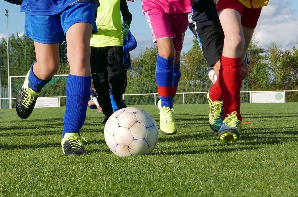 Beautiful stock photos of soccer balls, Day, Healthy Lifestyle, Low Section, Medium Group Of People