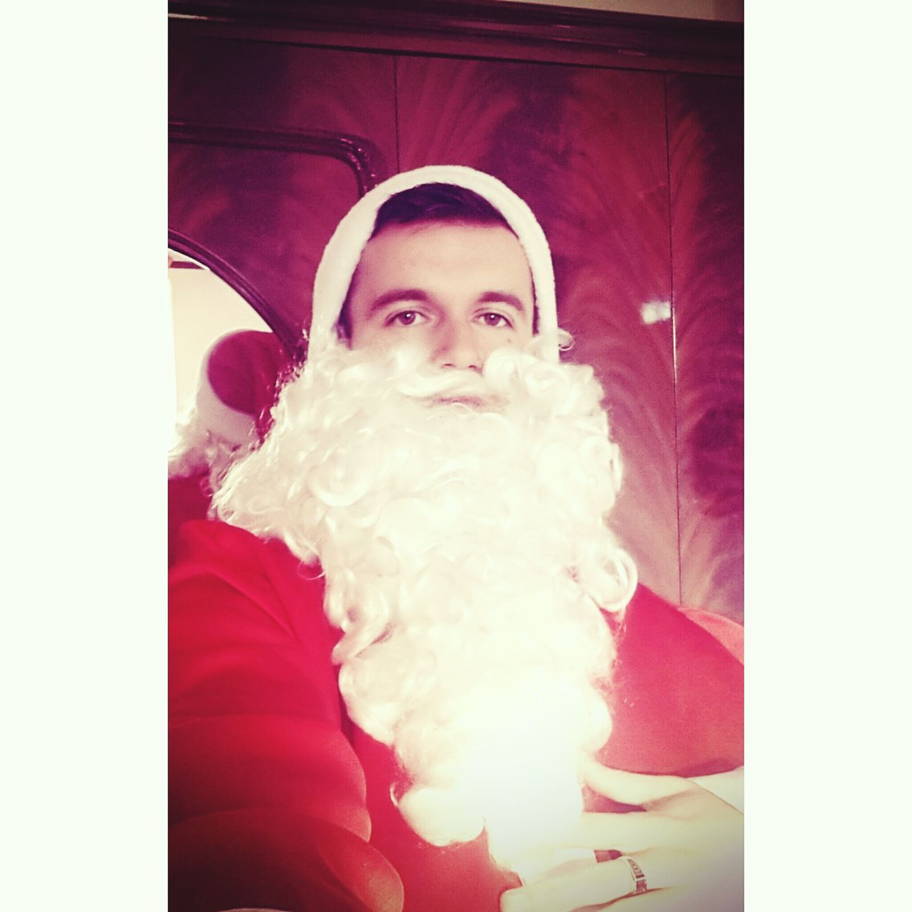 Christmas Faces Of EyeEm Holiday And Relaxing Santa Claus Make A Wish ! Happy