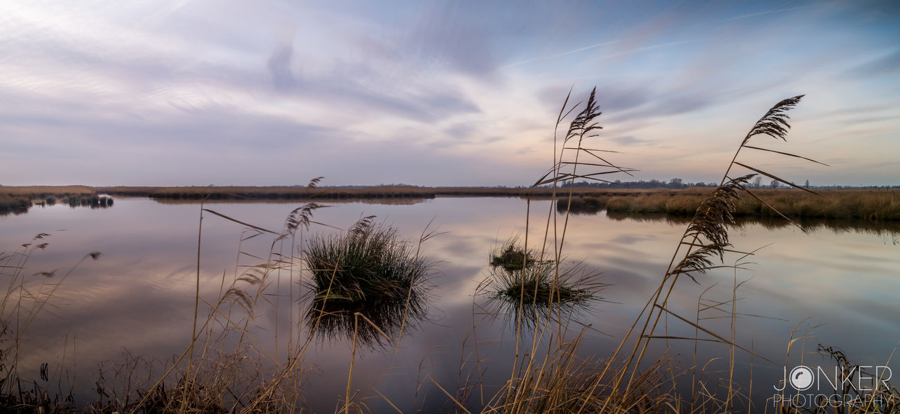 Showcase: January Long Exposure Landscape_photography Gorgeous Clouds And Sky Natural Composition Mothernature Landscape Landscape_Collection View Water Groningen Naturelovers
