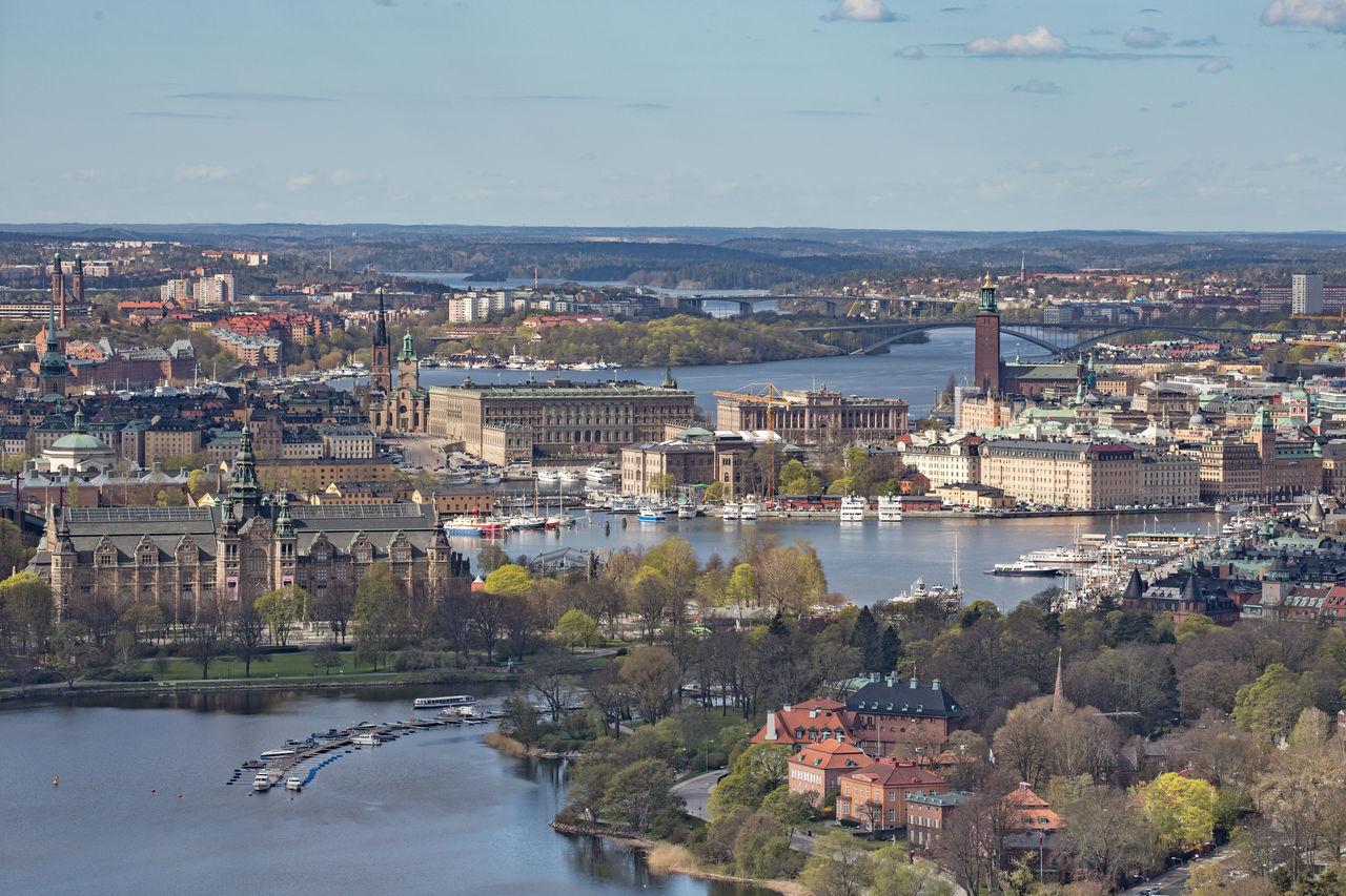 Beautiful stock photos of sweden, Architecture, Bridge - Man Made Structure, Building Exterior, Built Structure