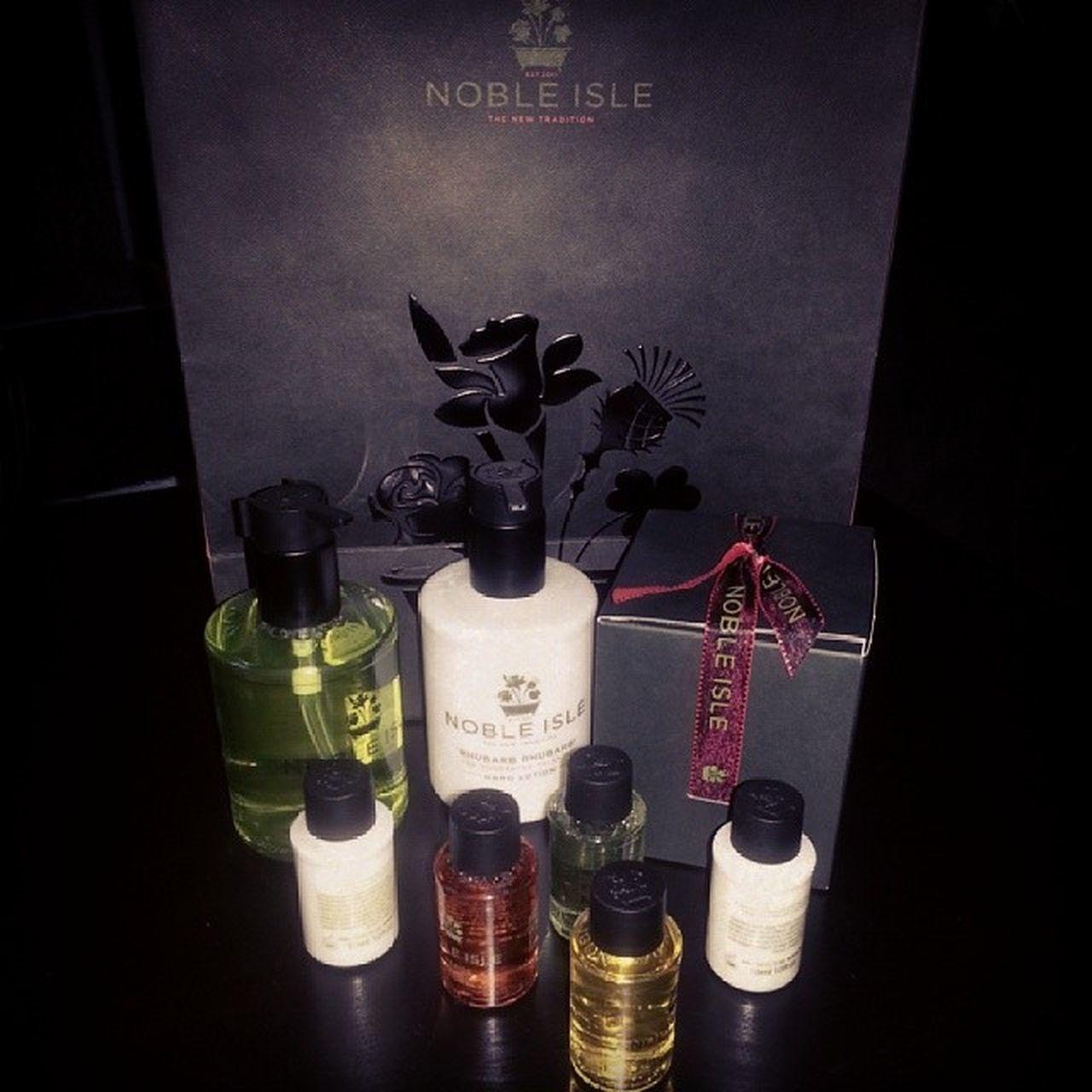 Lyxiga företaget Nobleisle sprang förbi mig under Formex2014 mässan och lämnade härliga gåvor. Lifestylepublishing Lifestyleworld