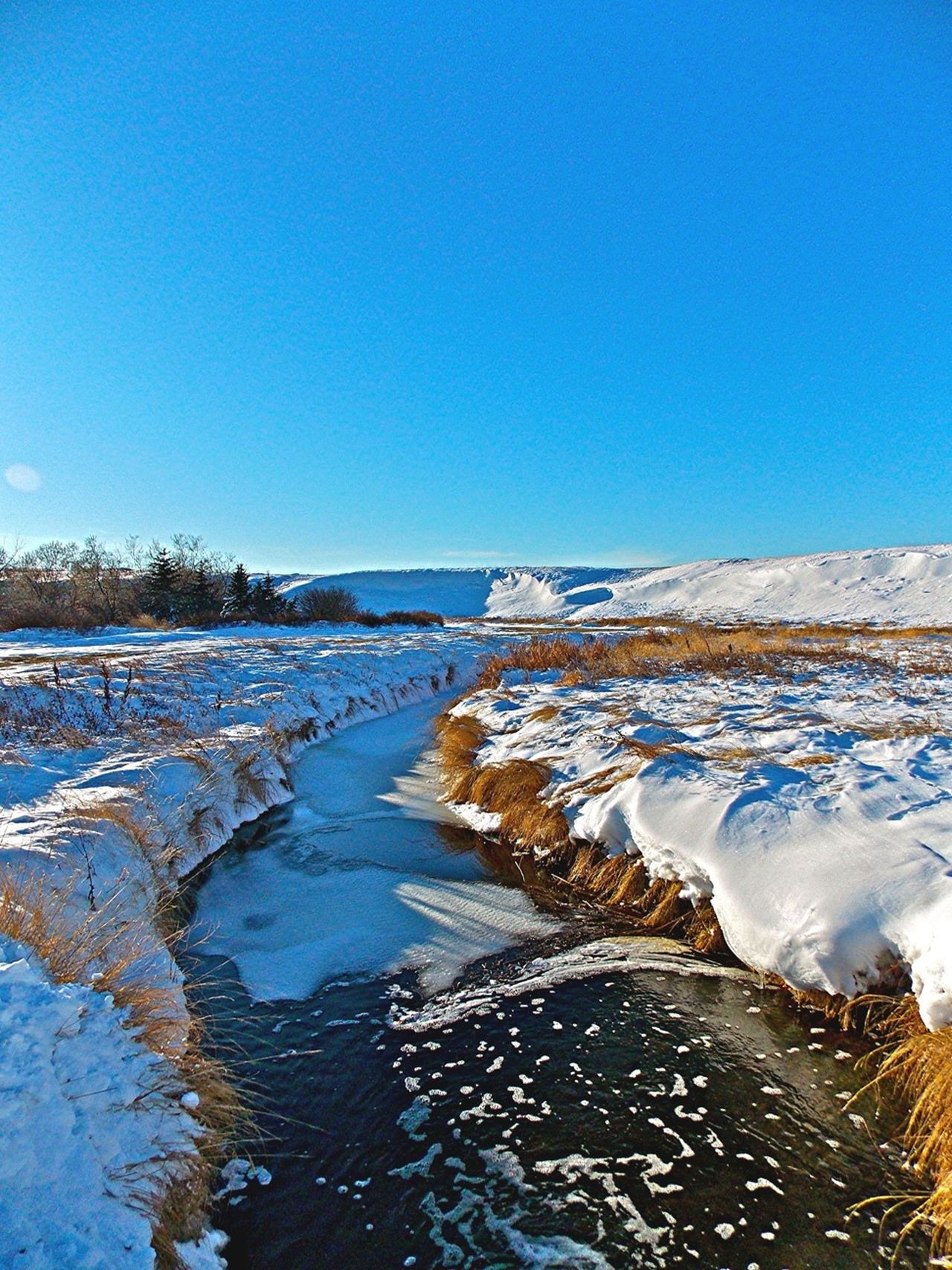 Beautiful stock photos of river, Clear Sky, Cold Temperature, Day, Horizon Over Land