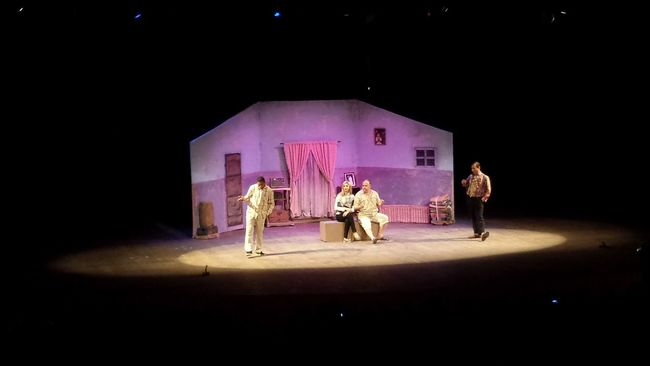 Theatre Oujda Theater Morocco الحمد_لله سبحانك ربي Oujda City, Morocco Spectacle Culture Role Play