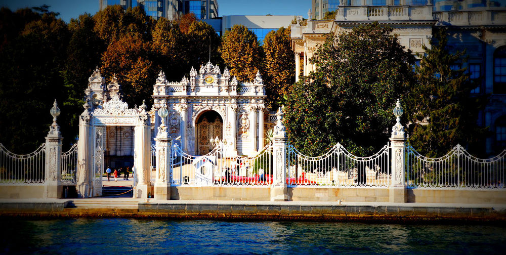 Architecture Bosphorus Built Structure Dolmabache Palace Dolmabahcepalace No People