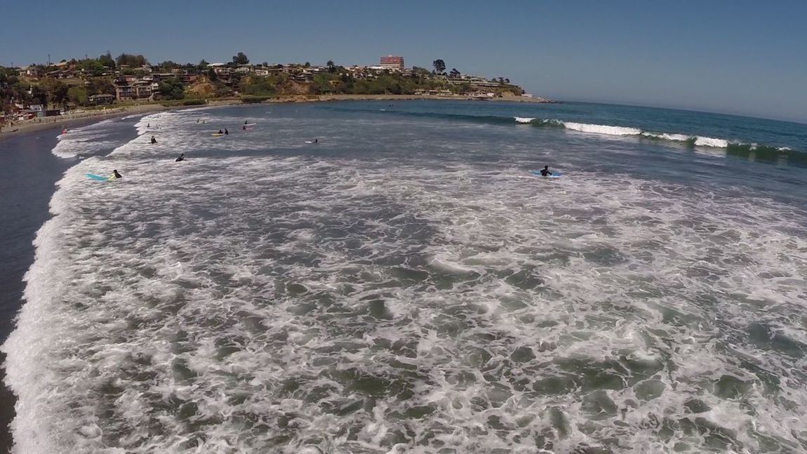 Landscape of Surfing beach in Chile Beach Photography Beach Beach Day Beauty In Nature Day Nature Outdoors Sea Sea And Sky Seaside Surfing Beach Surfing Paradise Water