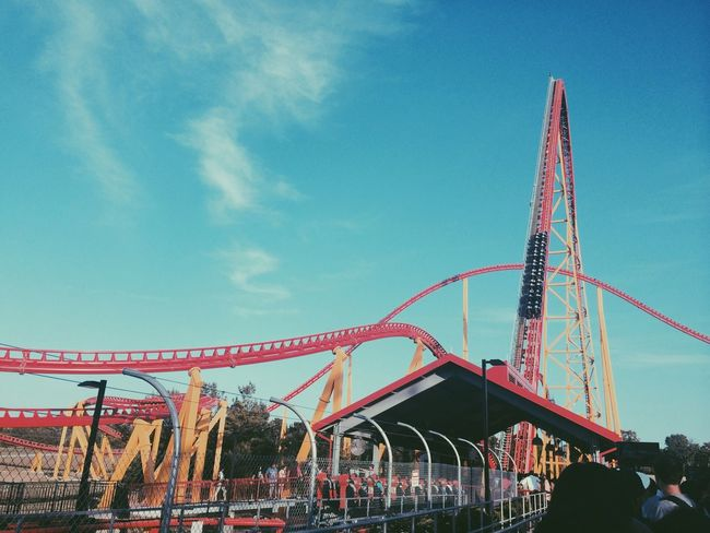 Roller Coaster Intimidator KingsDominion Fun.