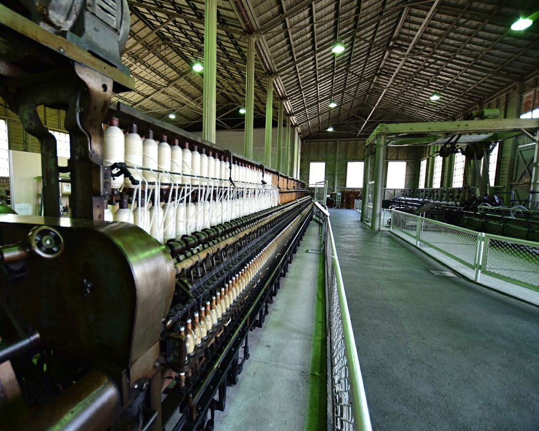 明治村 鉄道寮新橋工場 機械館 Museum Meiji-mura Factory Industry Indoors  No People Japan Japan Photography Nikon