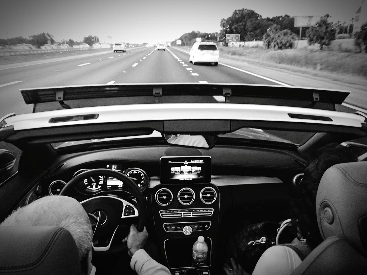 Car Human Body Part Dashboard Car Interior Steering Wheel Mature Adult Day Speedometer Adult Human Hand People Gauge Sky Outdoors Google Pixel XL Transportation Mode Of Transport Land Vehicle Mercedes-Benz Mercedes Top Down Convertible Car Convertible Ride