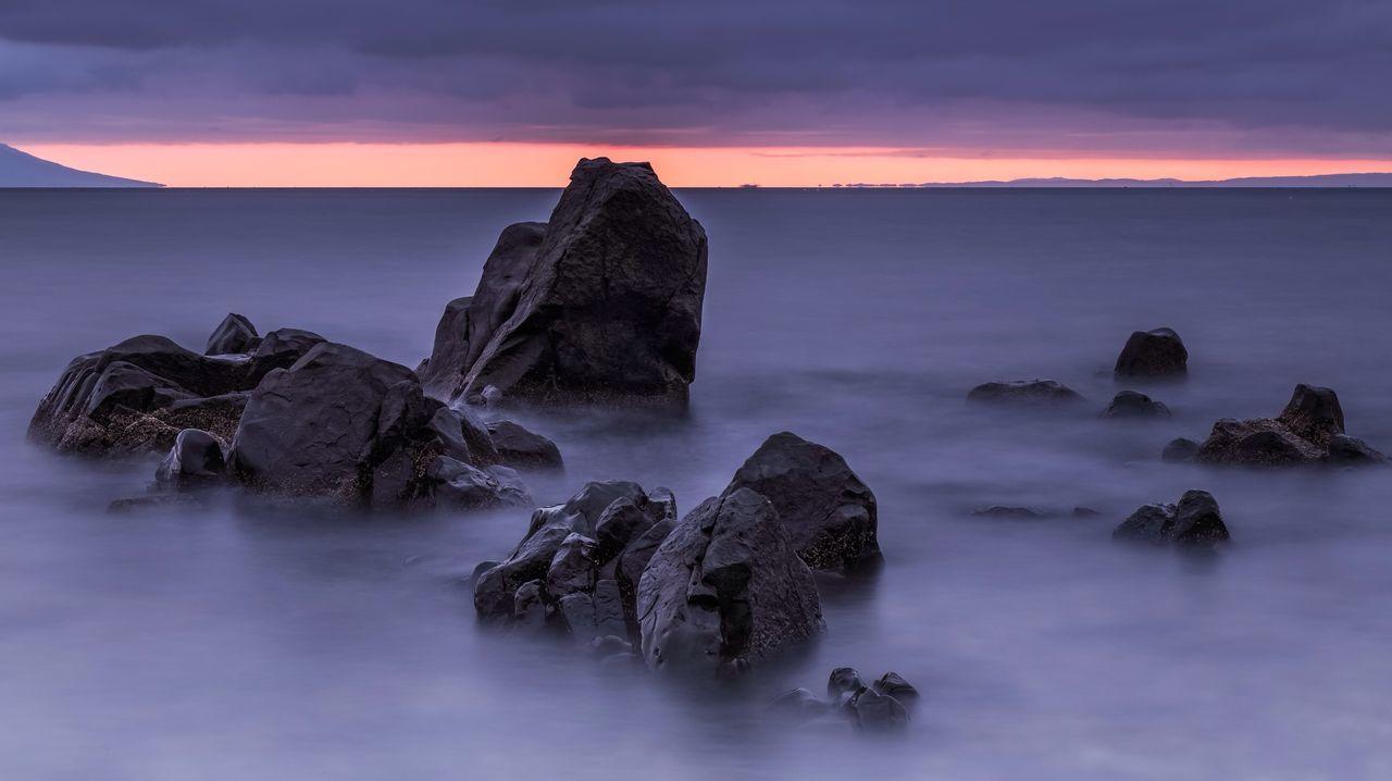 Sea Sunrise Nature Landscape