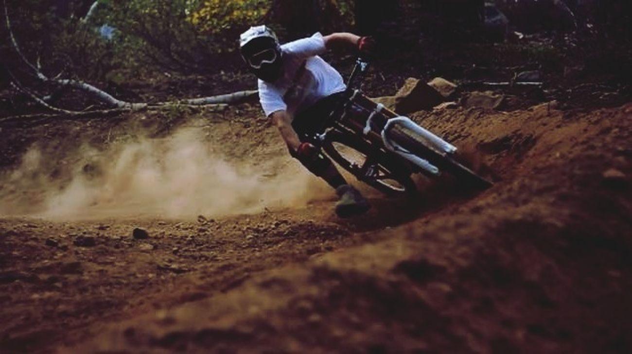 Love Down Hill ! Enjoying Life Bike Life