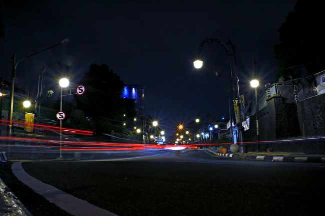 Weew,,, long exposure very surprising clarity,,, awesome :D City Street Just Photography Light Trail Long Exposure Night Photography Motion Nikon D5200 Street Light Taking Photo Taking Photos