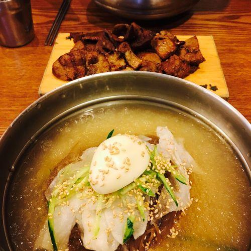 Korean Food Cold Noodles
